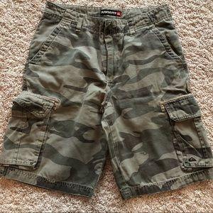 Quicksilver Camo cargo shorts